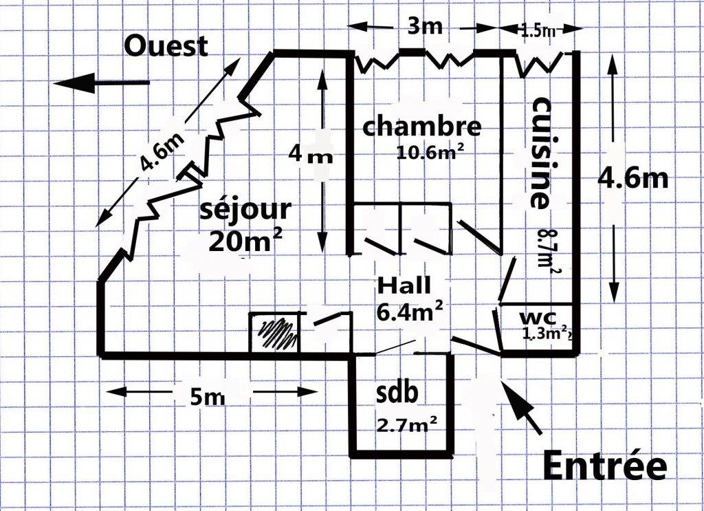 BEAU TYPE 2 Boulevard Notre-Dame / Rue Dragon 13006